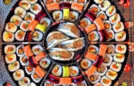 מגשי סושי– האוכל המושלם לאירוח ולאירוע